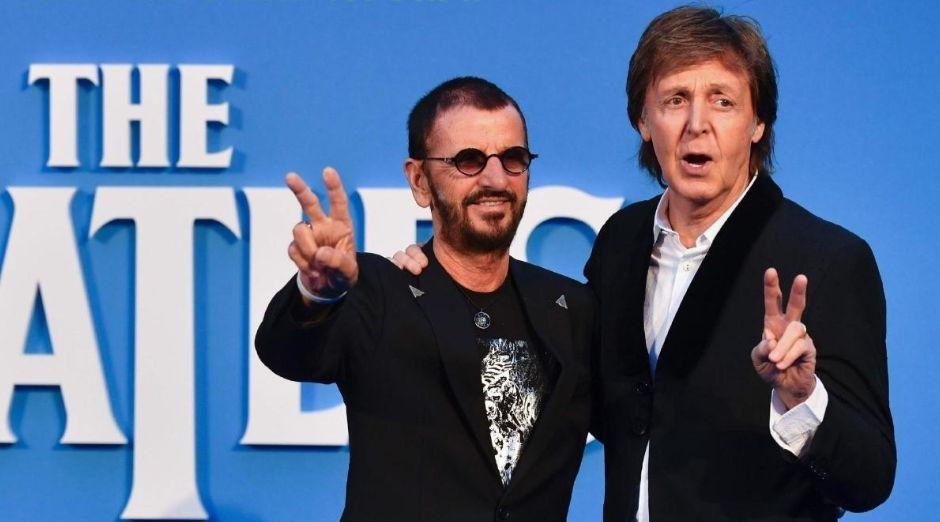 Ringo Starr Paul McCartney 2019