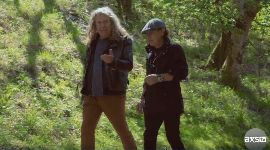 Robert Plant Brian Johnson