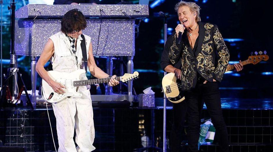 Rod Stewart Jeff Beck 2019