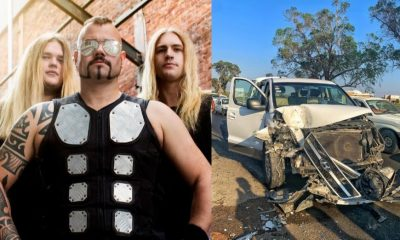 Sabaton car accident