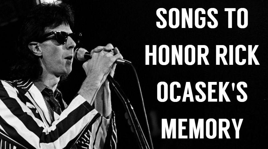 Songs to honor Ric Ocasek memory