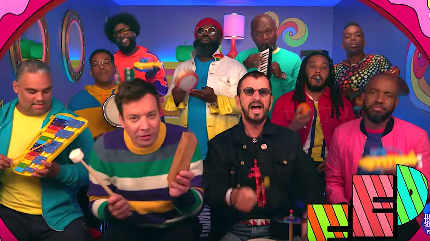 Yellow Submarine Jimmy Fallon Ringo Starr