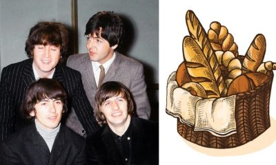 Beatles bread basket