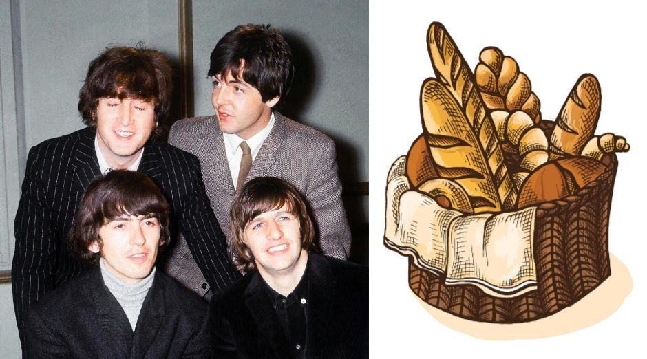 Beatles bread basket