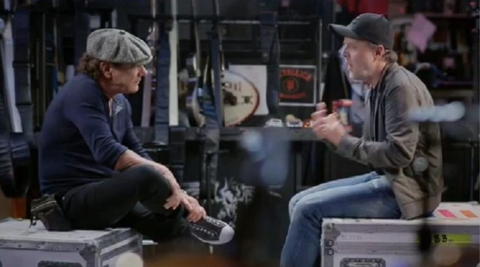 Brian Johnson Lars Ulrich 2019