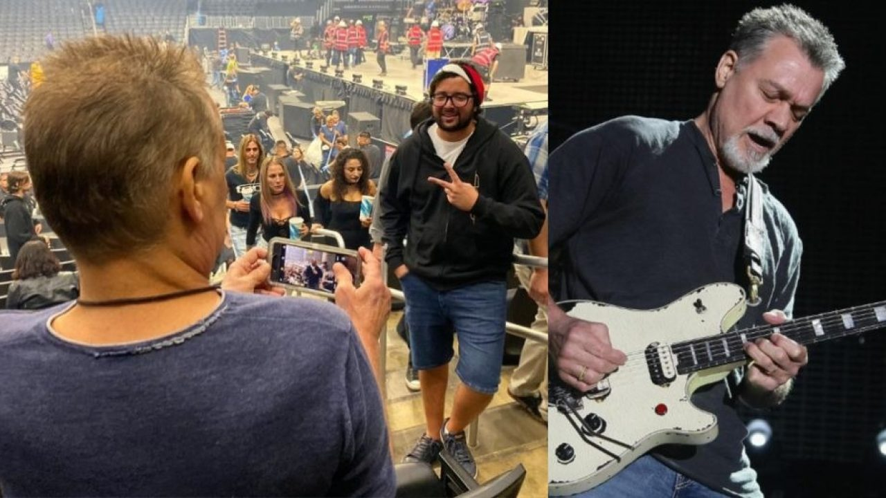 Tool Fan Asks Van Halen To Take A Picture Of Him And Doesn T Recognize The Guitarist