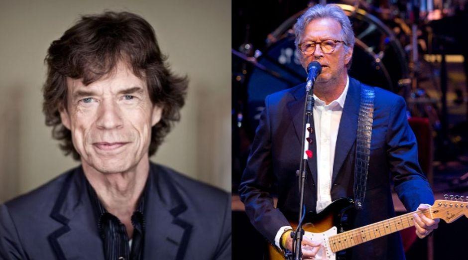 Mick Jagger Eric Clapton