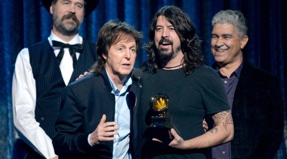 Paul McCartney Dave Grohl