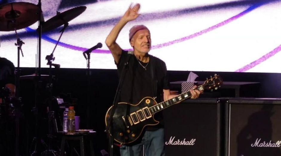 Peter Frampton last concert