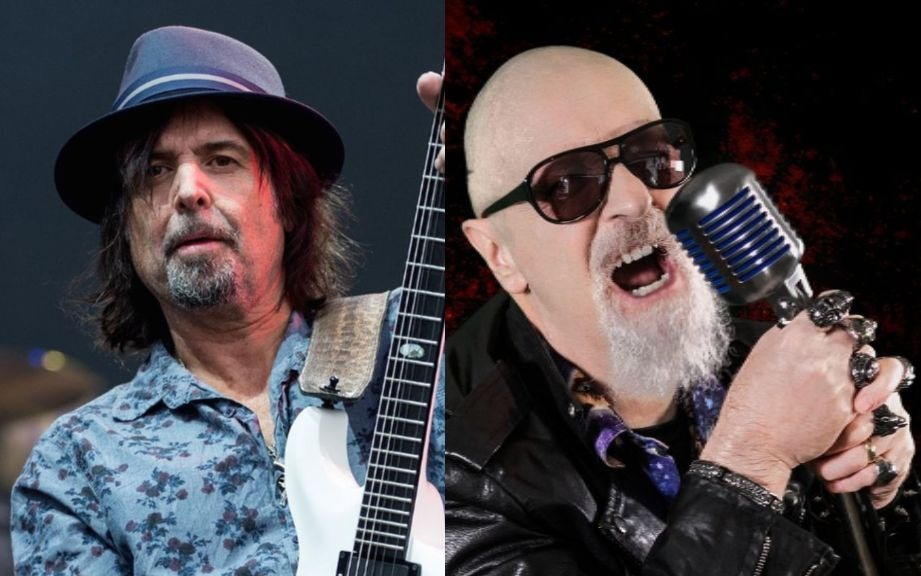 Phil Campbell Rob Halford