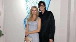 Ric Ocasek and wife