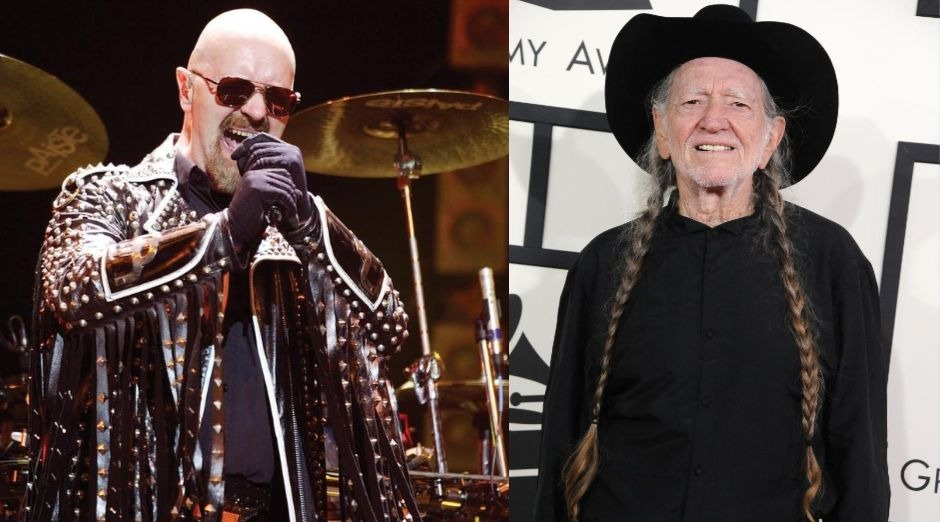 Rob Halford Willie Nelson