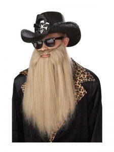 ZZ Top beard costume