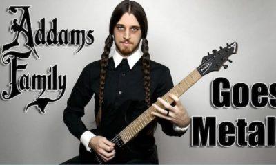 Addams Family Metal Version