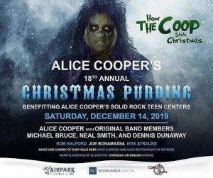 Alice Cooper Christmas Pudding 2019