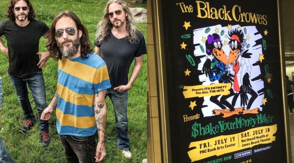 Black Crowes reunion tour dates 2020