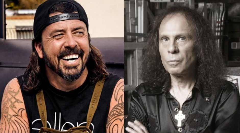 Dave Grohl Ronnie James Dio