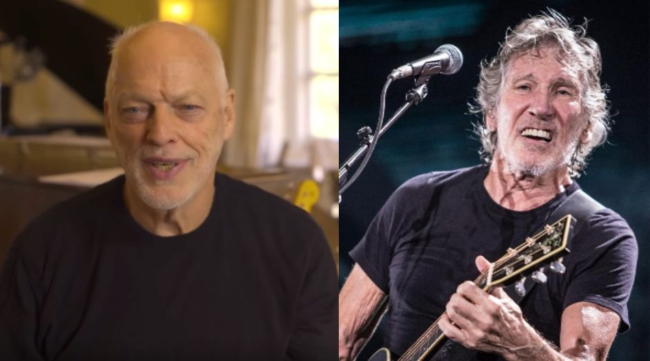 David Gilmour Roger Waters