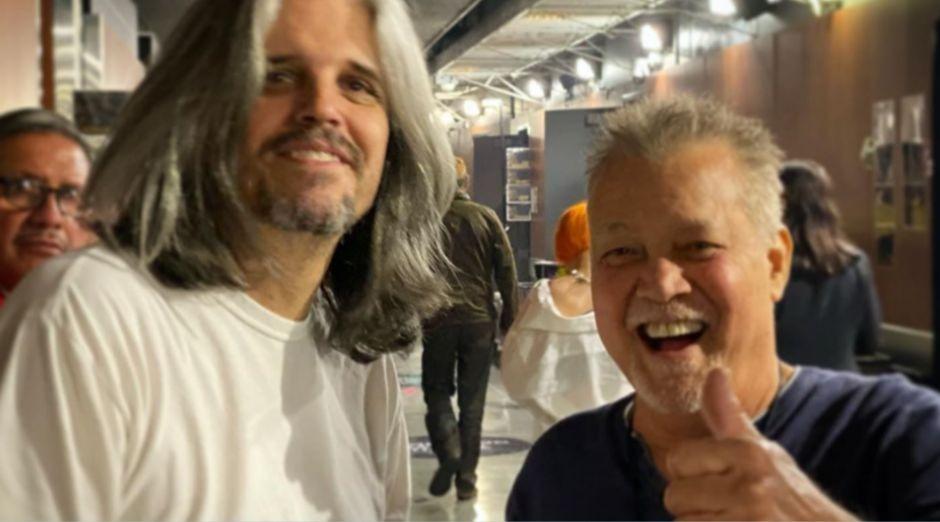 Eddie Van Halen Adam Jones
