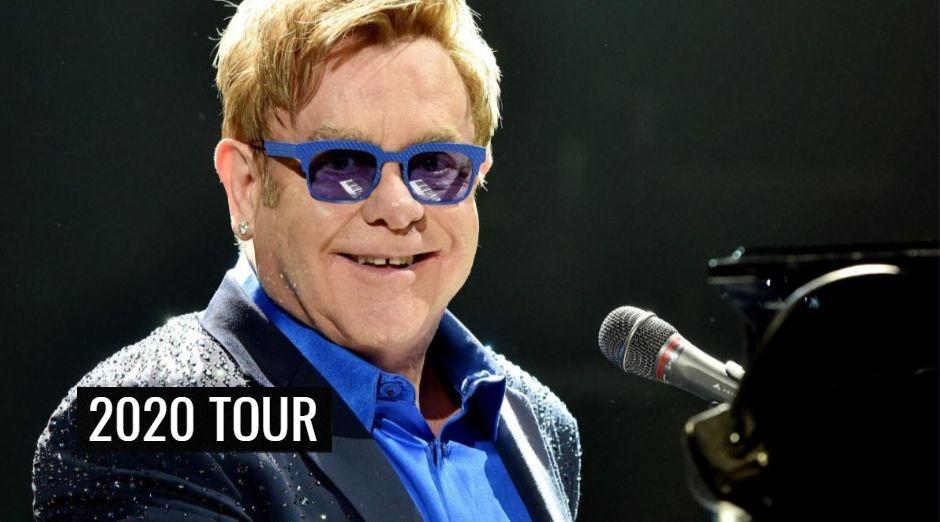 Elton John 2020 tour dates