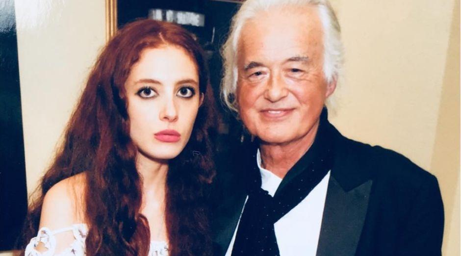 Jimmy Page girlfriend