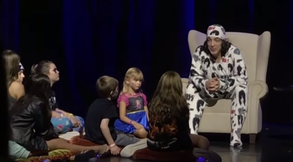 Paul Stanley pajamas