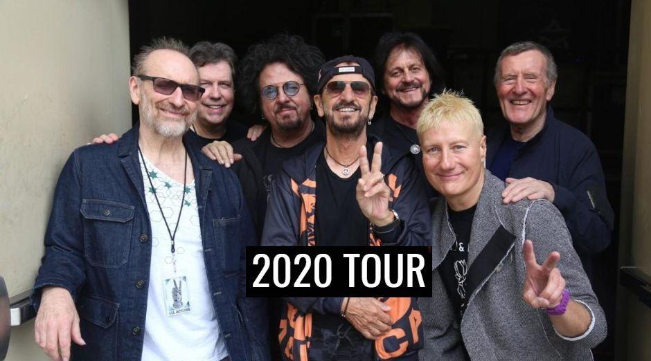 Ringo Starr 2020 tour