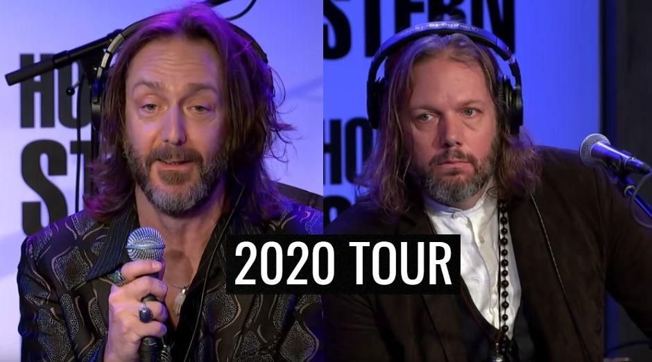 The Black Crowes 2020 tour dates