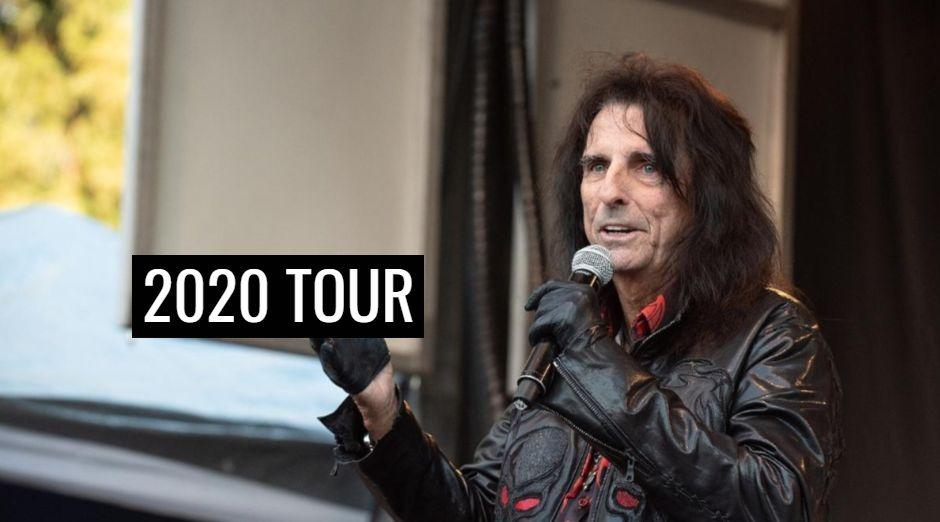 Alice Cooper 2020 tour