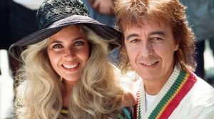 Bill Wyman and young ex-wife