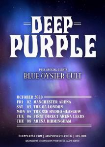 Deep Purple blue oyster cult