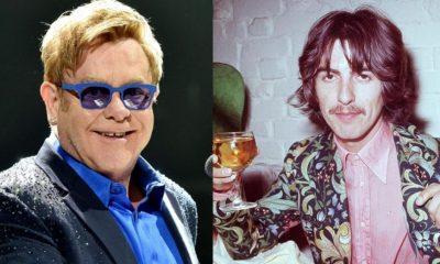 Elton John George Harrison