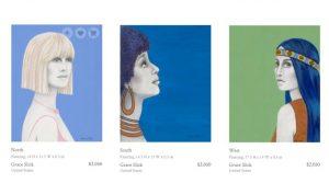 Grace Slick paintings