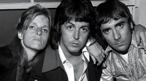 Linda McCartney Paul McCartney Keith Moon
