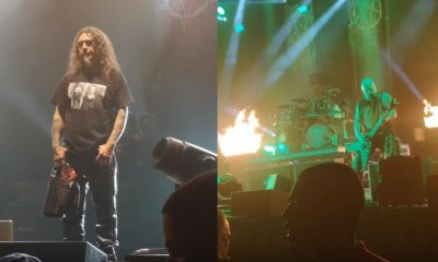 Slayer made their last concert