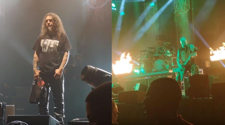 Slayer made their last concert
