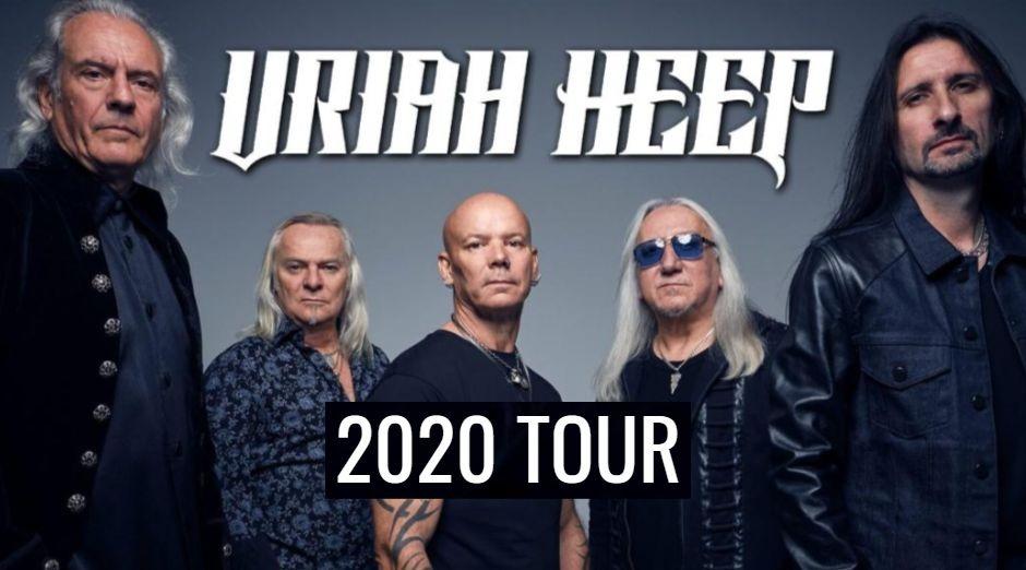 Uriah Heep 2020 tour