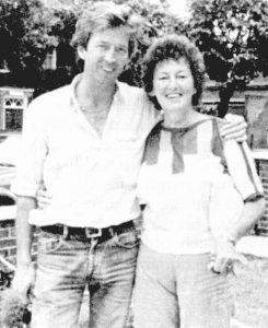 Eric Clapton and his mother