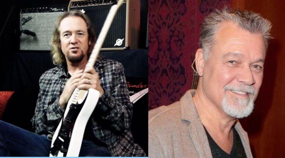 Adrian Smith Eddie Van Halen