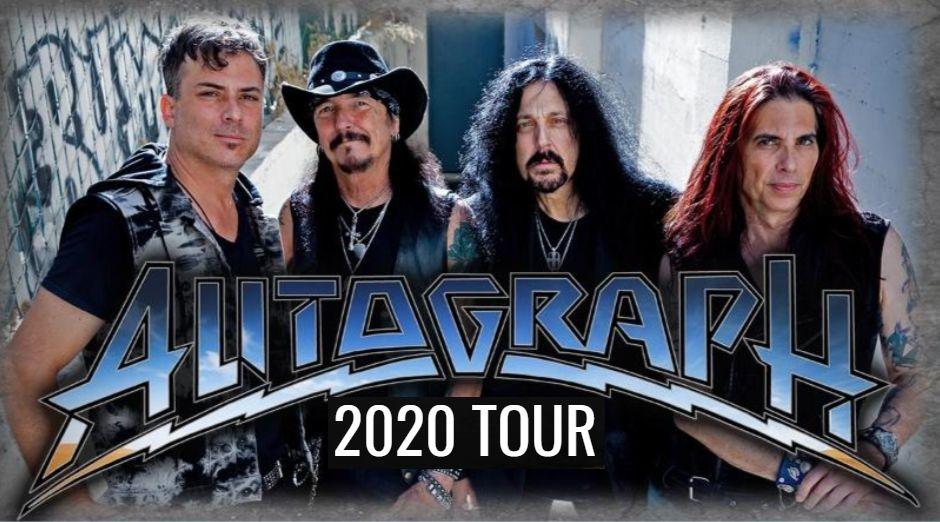 Autograph 2020 tour dates