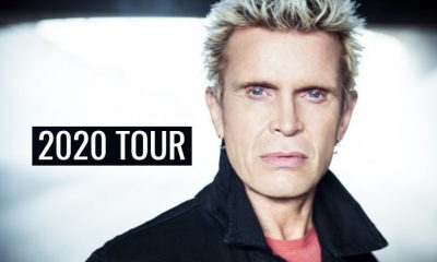Billy Idol 2020 tour dates