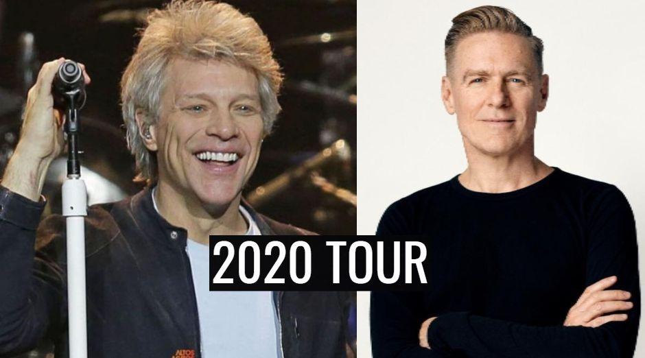 Bon Jovi Bryan Adams 2020 tour dates