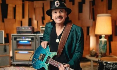 Carlos Santana isolated guitar