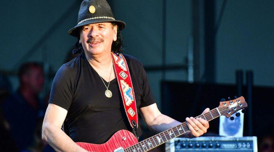 Carlos Santana marijuana