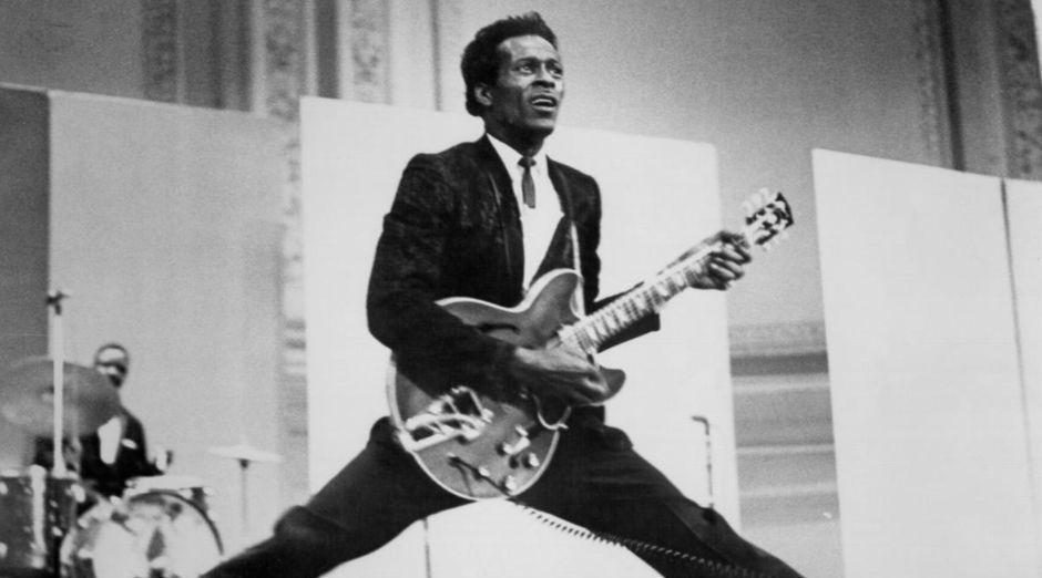Chuck Berry isolated guitar