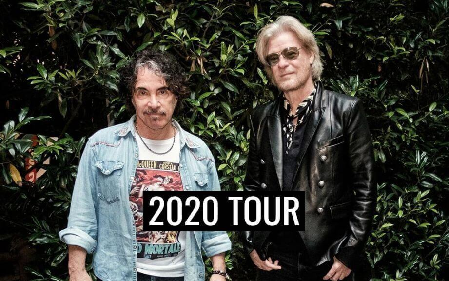 Daryl Hall Joh Oates 2020 tour dates