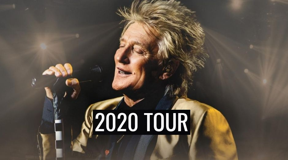 Rod Stewart 2020 tour dates