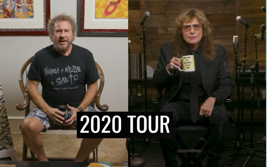 Sammy Hagar David Coverdale tour 2020
