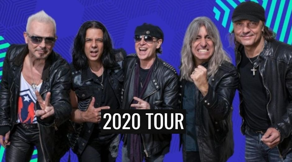 Scorpions 2020 tour dates
