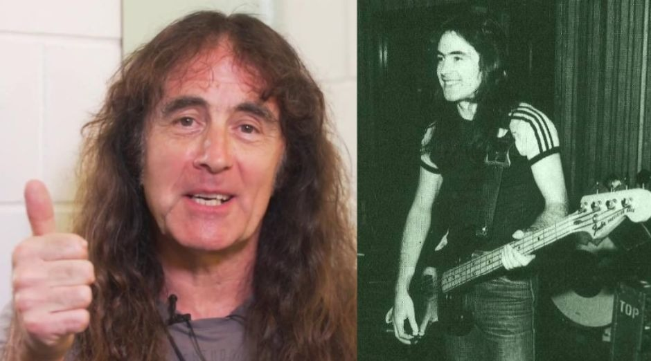 Steve Harris plan b iron maiden